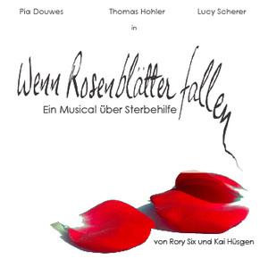 CD Cover »Wenn Rosenblätter fallen«