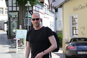 In der Altstadt von Tecklenburg - Foto: Karin Wittke