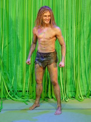 Alexander Klaws als Tarzan. Foto: Frank Wesner