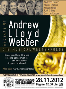 Aspects of Andrew Lloyd Webber Plakat