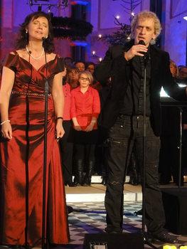 "Wilma Harth und Chris Murray mit ""Lullabye"". Foto: Barbara Kern"