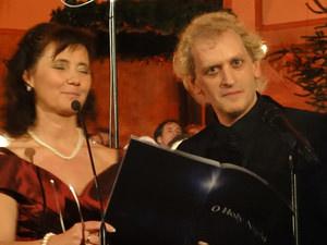 "Wilma Harth und Chris Murray: ""O Holy Night"". Foto: Barbara Kern"