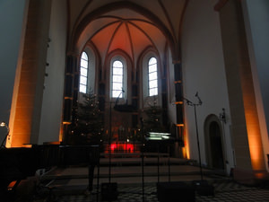 St. Katharina Kirche in Blankenberg. Foto: Barbara Kern