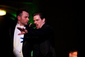Christian Alexander Müller und Patrick Stanke. Foto: Jörg Singer