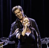 Michaela Schober und Jan Ammann mit 'Totale Finsternis'. Foto: Stephan Drewianka