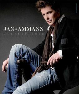 Jan Ammann Lampenfieber Plakat