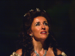 Janet Marie Chvatal, Füssens 'Kaiserin der Herzen'. Foto: Birgit Bernds