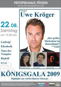 Königsgala 2009 Plakat