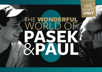 Pasek&Paul Plakat