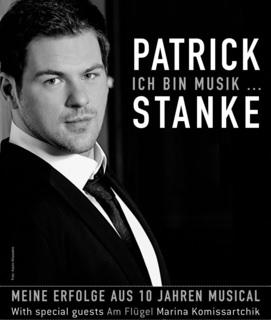 Patrick Ich bin Musik Plakat