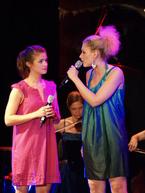 'Wie ich bin' - Lucy Scherer und Sabrina Weckerlin. Foto: