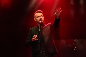 Christian Alexander Müller mit seiner 'Musik der Nacht'. Foto: Sandra Reichel