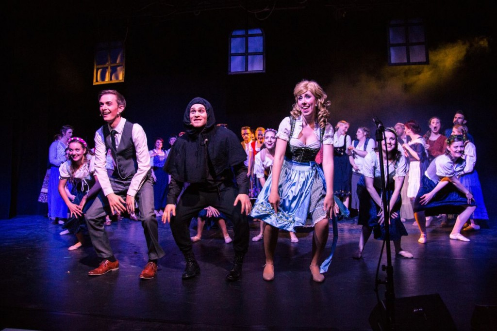 »Frankenstein Junior« in Mainz 2015. Foto: Stefan Wagner