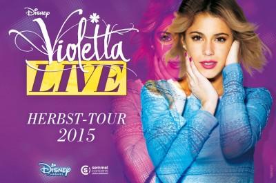 »Violetta« Live Herbst-Tour 2015