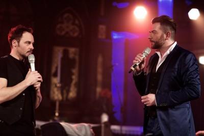 Rob Fowler und Christian Alexander Müller. Foto: Jörg Singer