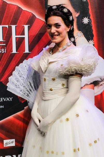 Roberta Valentini als Kaiserin Elisabeth in Berlin Foto: Juliane Blume