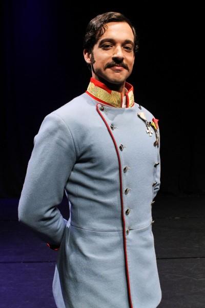 Maximilian Mann als Kaiser Franz Joseph Foto: Juliane Blume