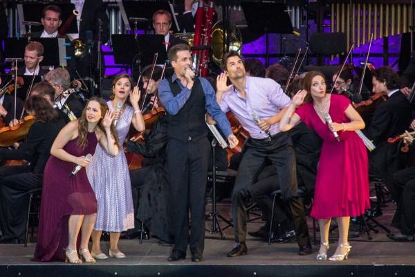 Kindheitserinnerungen an einem lauen Sommerabend<br>»Disney in Concert« in der Waldbühne Berlin