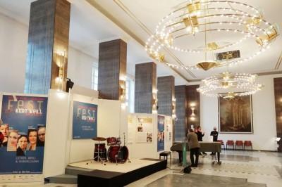 Ausstellung zum Kurt Weill Fest im Anhaltischen Theater. Foto: Sabine Schereck