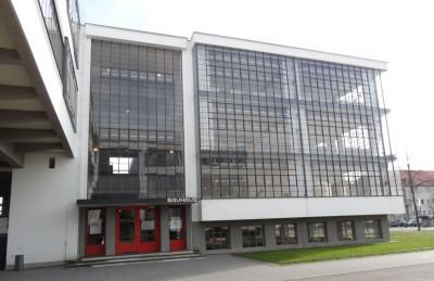 Eine weitere Ikone, das Bauhaus in Dessau. Foto: Sabine Schereck