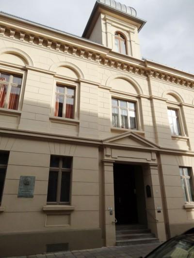 Das Kantorhaus in Dessau. Foto: Sabine Schereck