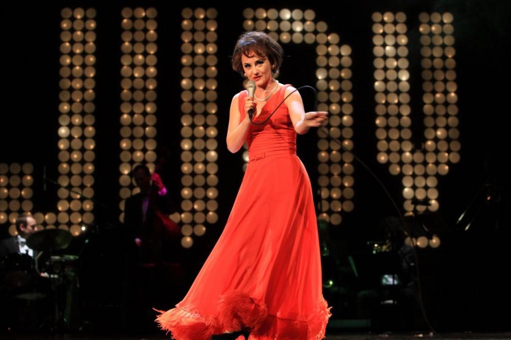 Katharine Mehrling als Show-Star Judy GarlandFoto: Der Dehmel