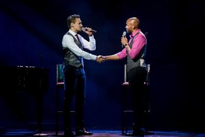 ›Nie dieser Sohn‹ - Dominik Hees und Gino EmnesFoto: Stage Entertainment / Morris Mac Matzen