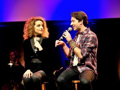Dorina Garuci und Thomas Hohler singen ›Gianna‹Foto: Birgit Bernds