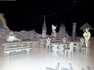 Eindruck des Bühnenbilds von Peter J. DavisonMartina Friedrich