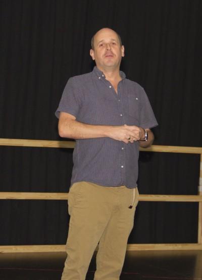 Nick Evans (Associate Director)Foto: Birgit Bernds