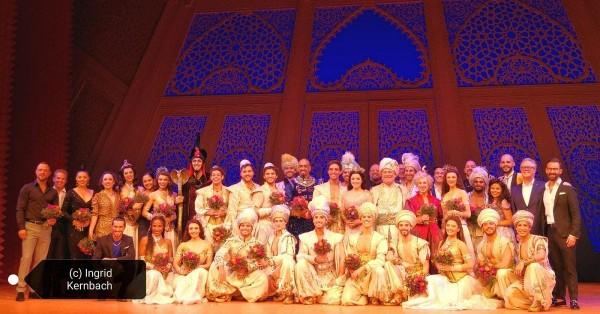 »Aladdin« Premiere in Stuttgart – Impressionen