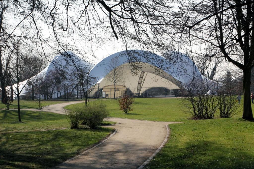 Amphitheater AußenansichtFoto: Brüder Grimm Festspiele