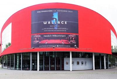 Das Theater am Marientor Dusiburg feiert am 14. November 2019 die Uraufführung von »Wallace«Foto: Birgit Bernds