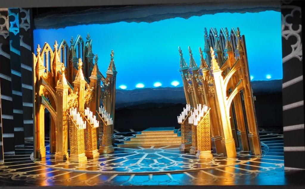 Westminster Abbey mit Kerzen, Ort der Hochzeit zwischen Edward I. und MargaretheFoto: Birgit Bernds